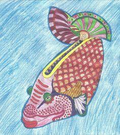 Ryba barevná