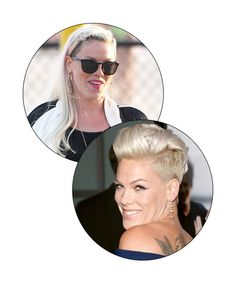 Pink  - Celebrities with pixie cuts