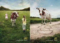 The real Milkshake - McDonald's #food #ads