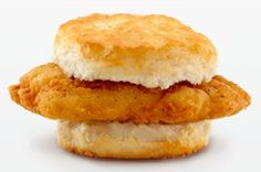 McDonald's Southern Style Chicken Biscuit from 15 Fast Food Entrées with the Least Cholesterol