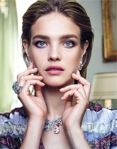 Natalia Vodianova enchants in Vogue Taiwan March 2016 by Nico Bustos – Bloginvoga | The Latest Fashion News and Trends