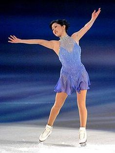 Kristi Yamaguchi- Blue Figure Skating / Ice Skating dress inspiration for Sk8 Gr8 Designs.