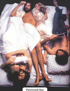 Fleetwood Mac by Annie Leibovitz for Rolling Stone, March 1977. This was the cover shot.