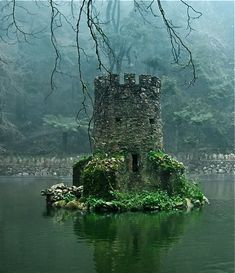 Scotland - an under water castle  ...for the MERMAIDS!