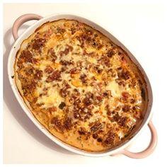 Blomkål & köttfärsgratäng | Lchfmedcamilla Snack Recipes, Cooking Recipes, Snacks, Low Carb Casseroles, Mince Meat, Swedish Recipes, Recipe For Mom, I Love Food, Food Inspiration