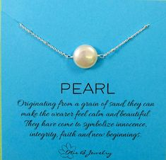 Coin-pearl-necklace-june-birthstone by Www.briguysgirls.etsy.com #etsy #pearl #junebirthstone #gifts #mothersday #momsjewelry #wife #coinpearl #otisbjewelry @hailsmom04