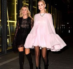 Valentina & Chiara Ferragni Fashion Style #ootd #ootn #style #stylist #styleaddict #styleinspo #styleicon #stylegram#styleinspiration#highfashionfiles #fashionblog#fashionstyle #fashiongram #celebritystyle #celebrityfashion #celebritystylist #fashionblogger #styleblogger #camilacoelho #parisfashionweek #fashionweek #valentinaferragni #chiaraferragni