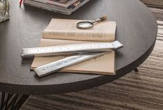 Stationery & Bookends, Aluminum Ruler Paperweight ★ Creative Co-Op Home