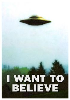 X-Files I Want To Believe poster hires - Imgur