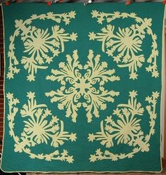 another gorgeous vintage hawaiian quilt. design hawaii quilts