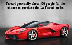 Prepare to be blown away! Thought you knew your cars? Well, maybe you weren't aware of some of these shocking facts... #LaFerrari #spon