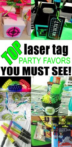 BEST laser tag party