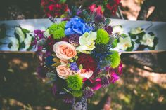 Boquet Colourful Flowers Bride Bridal Magical Outdoor Garden Festival Wedding http://realsimplephotography.net/