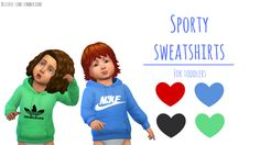 This is a page for all of the awesome cc that I come across! The Sims, Sims Cc, Sims 4 Toddler, Sims 4 Cc Finds, Avatar, Ts4 Cc, Sims 4 Custom Content, Sims Ideas, Sporty