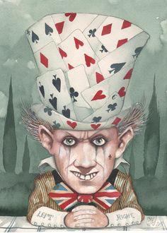 Dominic Murphy ILLUSTRATION | Alice in Wonderland