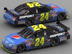 [IMG] Here's Jeff Gordon's Pepsi car that will be driven at California for the Pepsi 500 tomorrow. Jeff Gordon Car, Nascar Season, Daytona International Speedway, Nascar Racing, Paint Schemes, Race Cars, Pepsi Cola, Photo Ideas, Rocks