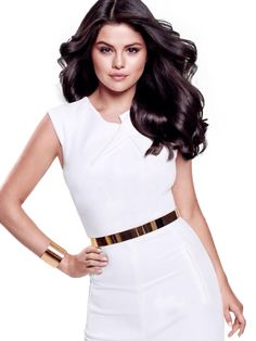 Selena Gomez, Pantene hair. (If I could have anybody's hair... it'd be hers.)