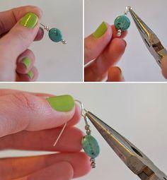 5 Minute DIY Earrings