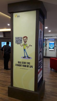 Branding for our Client MyPropertyBoutique's new project launch held at Spencer Plaza