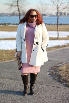 Plus Size Fashion for Women - Winter Fresh