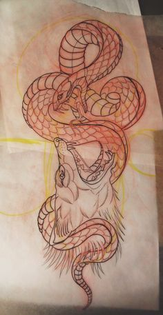 Tattoos by Ash – Serpent tattoo Crow Tattoo Design, Sketch Tattoo Design, Tattoo Sketches, Tattoo Drawings, Tattoo Designs, Arm Tattoos, Octopus Tattoos, Sleeve Tattoos, Cool Tattoos