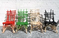 stick chairs by godspeed
