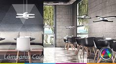 Selección de lámparas de techo de diseño. Modelo que puedes encontrar en www.lacasadelalampara.com