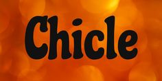 New free font 'Chicle' by Sudtipos · Free for commercial use · Latest Fonts, Logo Type, Font Free, Scripts, Digital Art, Commercial, Packaging, Fresh, Signs