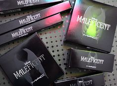 MAC Maleficent collection - Swatches and Review