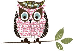 little pink owl (illustrator unknown)