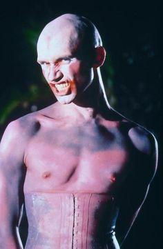 """Michael Clark as Caliban in Peter Greenaway's """"Prospero's Books,"""" 1991"""