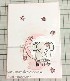 A Little Wild from Stampin' Up!