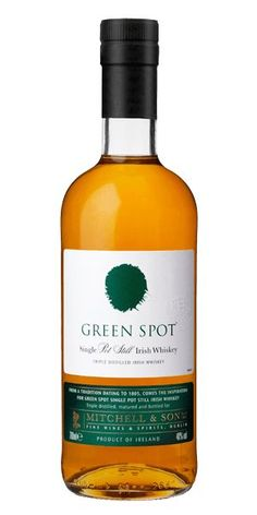 Green Spot Single-Pot Still Irish Whiskey Irish Whiskey Brands, Best Irish Whiskey, Scotch Whiskey, Bourbon Whiskey, Homebrew Recipes, Pot Still, Home Brewing Beer, Wine Case, Drinks