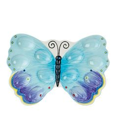 Take a look at this Courtyard Butterfly Egg Tray by Fitz and Floyd on #zulily today!