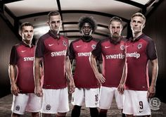 camisetaliga2016: Camiseta del Sparta Prague 2016 Sparta Prague, Football Kits, Nike, Sports, Football Shirts, Prague, Soccer Kits, Hs Sports, Soccer Equipment