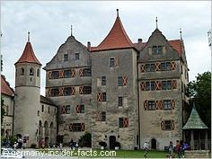The mighty Harburg Castle on the Romantic Road in Germany#monogramsvacation