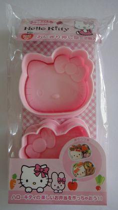 Sanrio Hello Kitty Face Large Rice Mold x 2 by worldofkawaii, $10.95