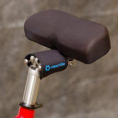 Amazon.com : Nexride Pivoting Noseless Bicycle Saddle (Free U.S. ...