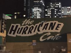 Hurricane cafe, downtown Seattle