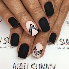 Acrylic manicures, dip powder nails, and gel manicures are just a few of the artificial nails designs that women love. Acrylic nails are a form of fake nails that are . Matte Nails, Pink Nails, My Nails, Acrylic Nails, Stylish Nails, Trendy Nails, Manicure E Pedicure, Manicure Ideas, Ballerina Nails