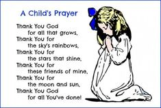 Thanksgiving day prayer so here we have mentioned the different Thanksgiving day prayers. Please read the complete article on simple Thanksgiving prayer. Childrens Bedtime Prayer, Bedtime Prayers For Kids, Prayers For Children, Morning Prayer For Kids, Good Night Prayer, Morning Prayers, Thanksgiving Prayers For Family, Prayer For Family, Kids Prayer