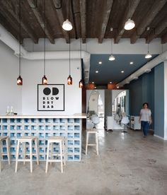 Image 1 of 19 from gallery of OD Blow Dry Bar / SNKH Architectural Studio. Photograph by Sona Manukyan & Ani Avagyan