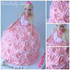 Blissfully Sweet: A Barbie Buttercream Birthday Cake