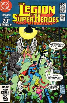 Legion of Super-Heroes (Volume 2) #281, November 1981. Cover by George Perez.