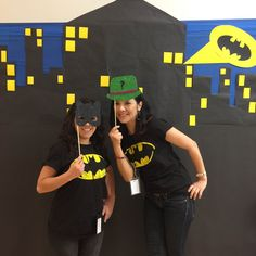 Monrovia Public Library Celebrates Batman Day!