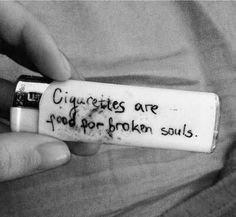 """♡ Pastel soft grunge aesthetic ♡ ☹☻ ☾""""Cigarettes are food for broken souls. I never really thought of it that way. I guess its time to break the habit and let my soul free. Smoking Kills, Girl Smoking, Tumblr Tattoo, Tattoo Quotes, Sad Quotes, Qoutes, Drug Quotes, Poem Quotes, Hindi Quotes"""