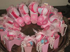 Little Girl Spa Party Supplies | each, books $5 each, purse $3 each