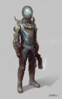 Concept Art: Astronaut