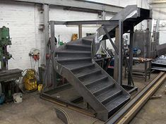 Steel Staircases fabricated by Q Fabs Ltd