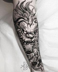 Animal Sleeve Tattoo, Forearm Sleeve Tattoos, Tribal Sleeve Tattoos, Best Sleeve Tattoos, Tattoo Sleeve Designs, Leg Tattoos, Body Art Tattoos, Tattoos For Guys, Japanese Hand Tattoos